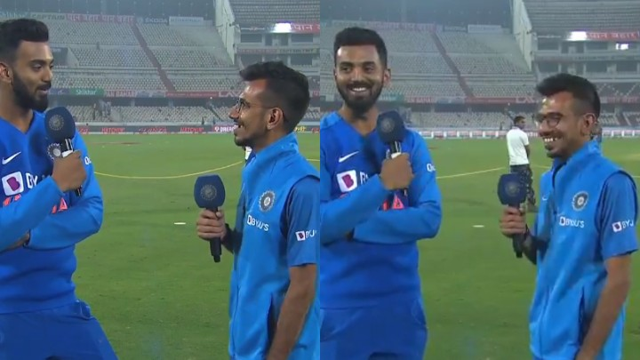 IND v WI 2019: WATCH - KL Rahul shows his humorous side on Chahal TV with Yuzvendra Chahal