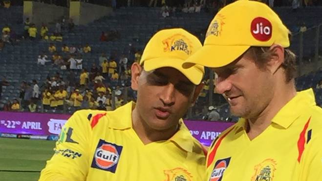 Shane Watson believes that MS Dhoni still has it in him and is playing incredibly well