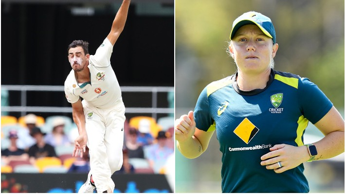 AUS v IND 2020-21: Alyssa Healy responds to a fan taking dig at Mitchell Starc's performance