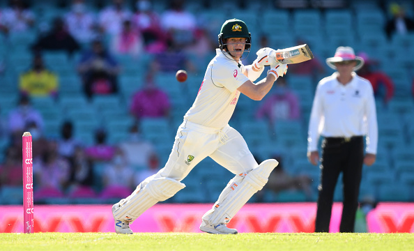 Steve Smith scored a century in the SCG Test   Getty Images