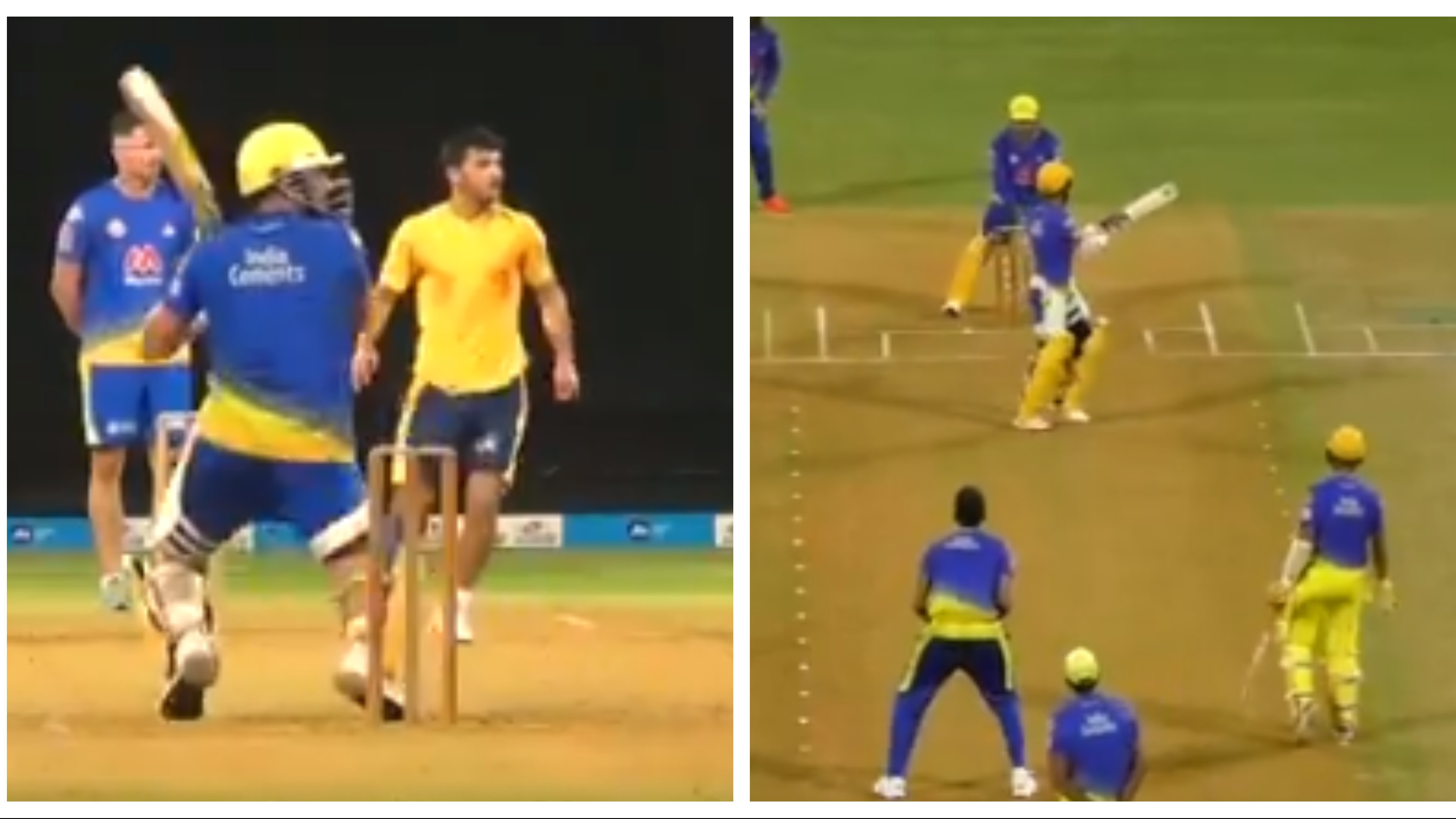 IPL 2021: WATCH – MS Dhoni showcases his batting, wicketkeeping skills in CSK's intra-squad match
