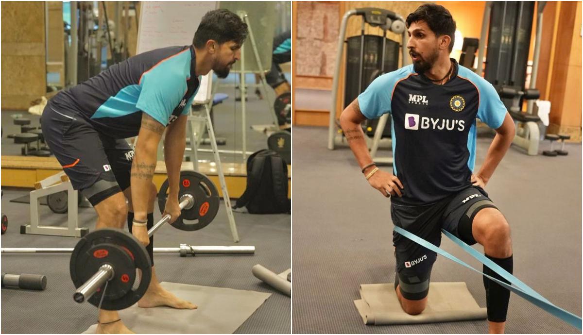 Ishant Sharma training ahead of the five-match Test series against England | Instagram