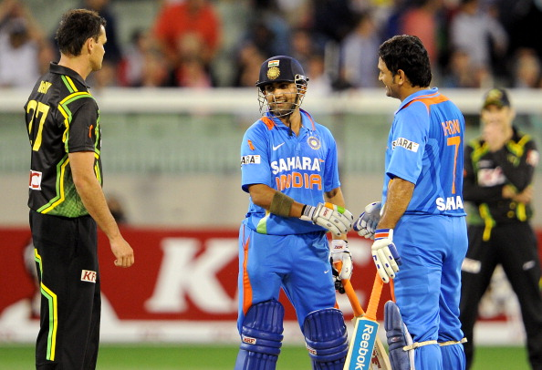 Gautam Gambhir revealed that Dhoni's decision to not play him, Sehwag and Tendulkar together shocked him | Getty