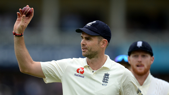 James  Anderson plays the senior partner to Stuart Broad