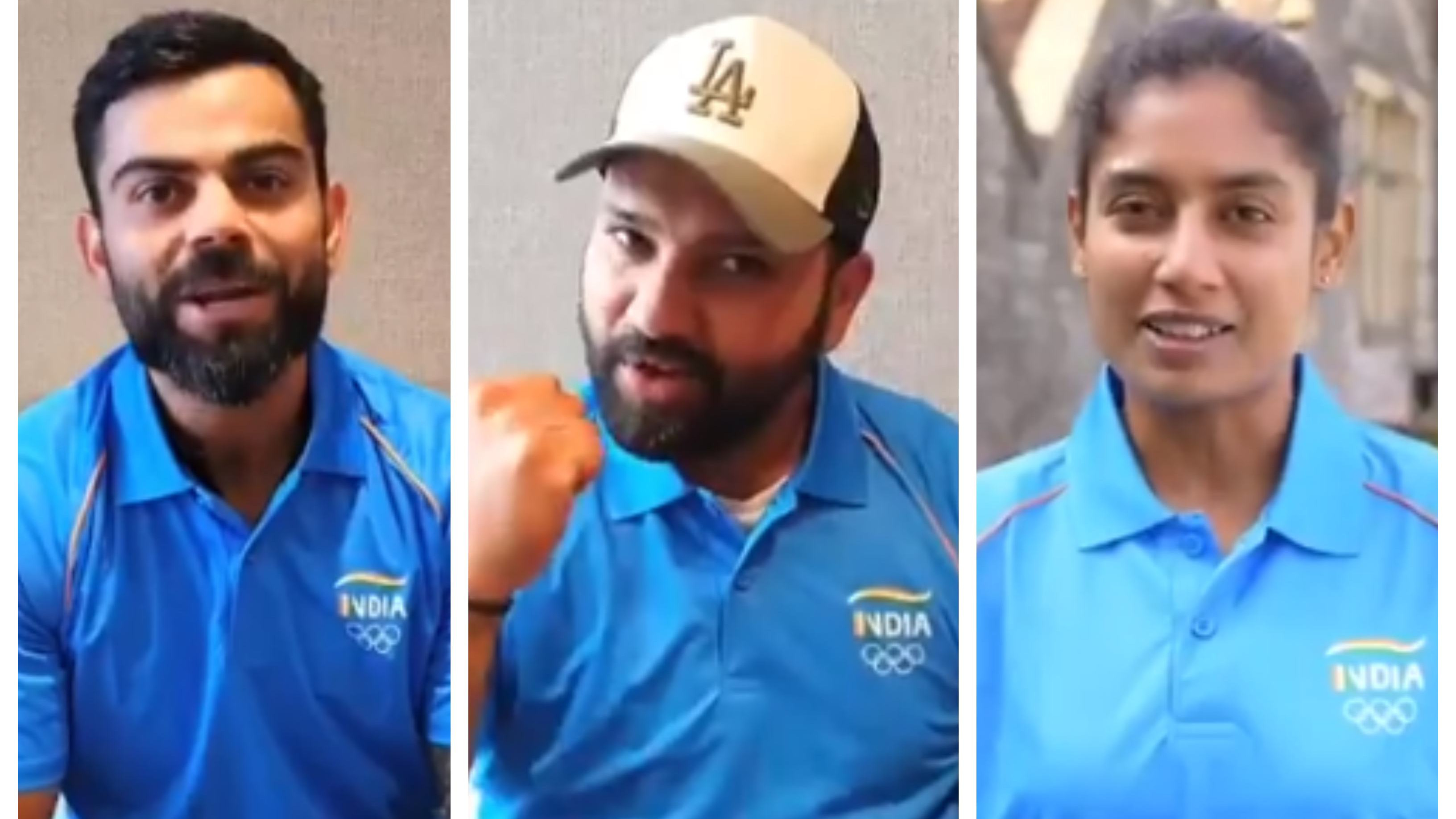 WATCH: Indian cricketers extend unconditional support for country's Olympic-bound contingent