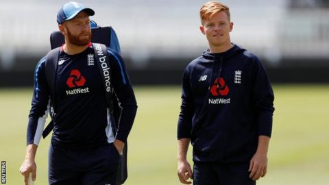 Batting positions of Pope  and Bairstow might be altered in the next Test. (Getty)