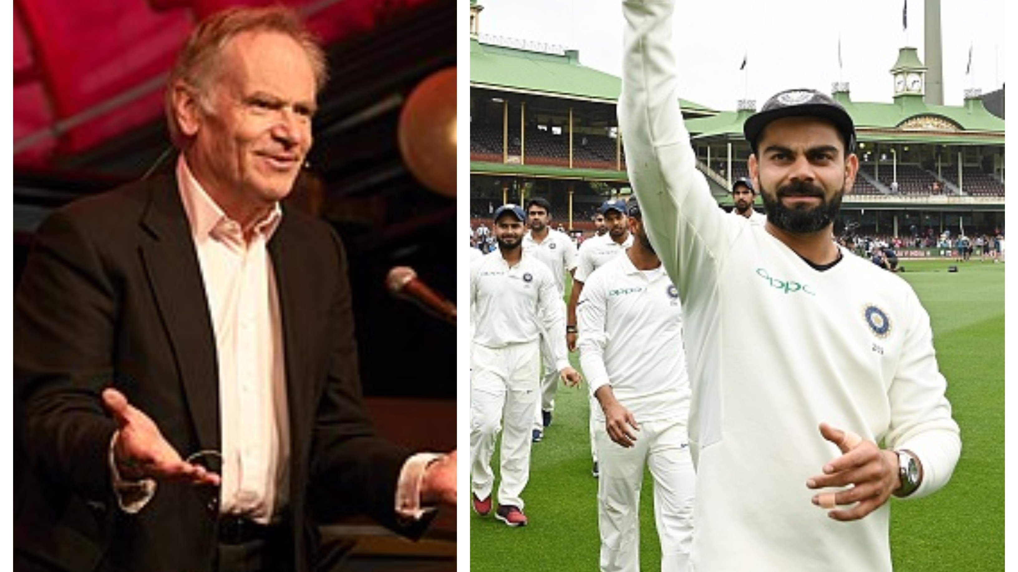 Jeffrey Archer calls himself an admirer of Virat Kohli's competitive attitude