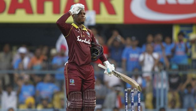 Shimron Hetmyer scored a blistering century in 1st ODI