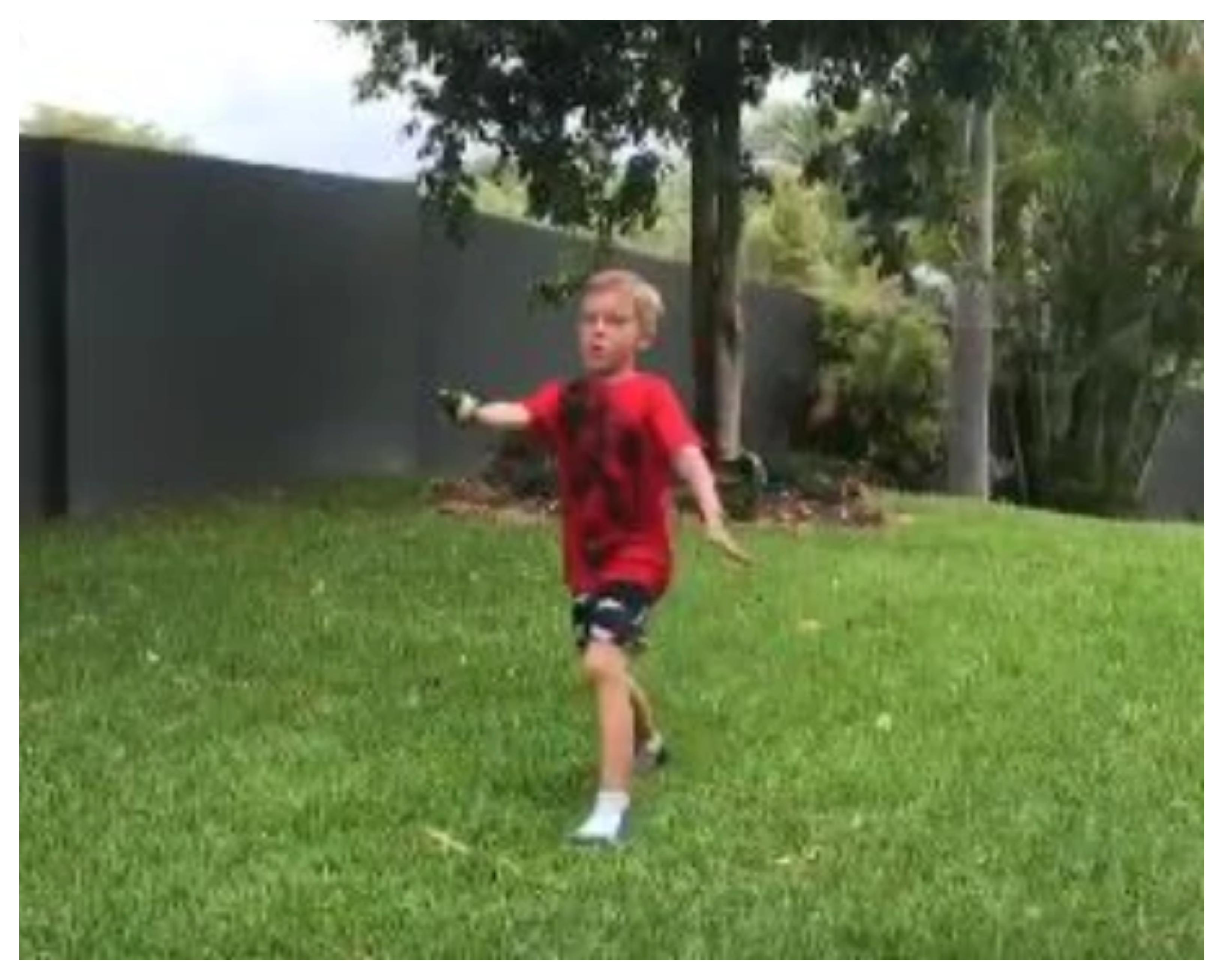 Australian kid imitates Jasprit Bumrah's bowling action | Twitter