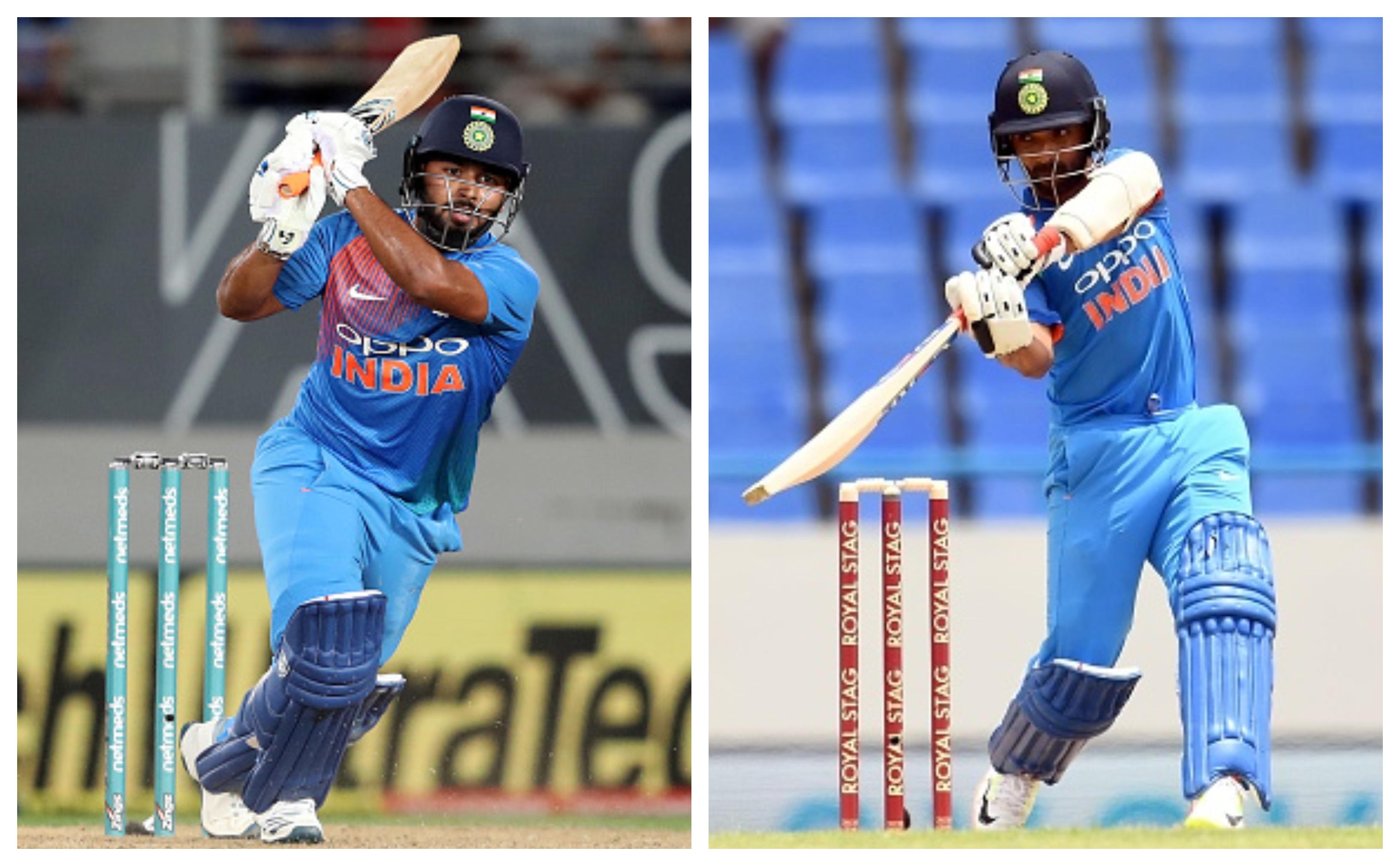Rishabh Pant and Ajinkya Rahane | Getty