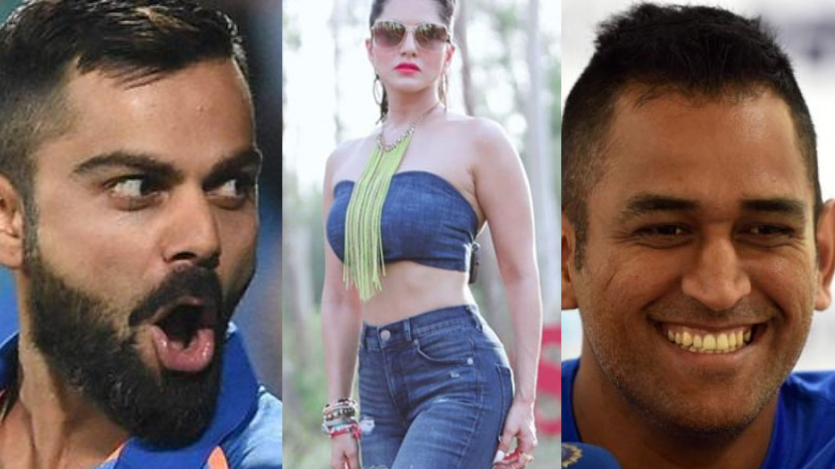 Bollywood diva Sunny Leone reveals the name of her favorite Indian cricketer