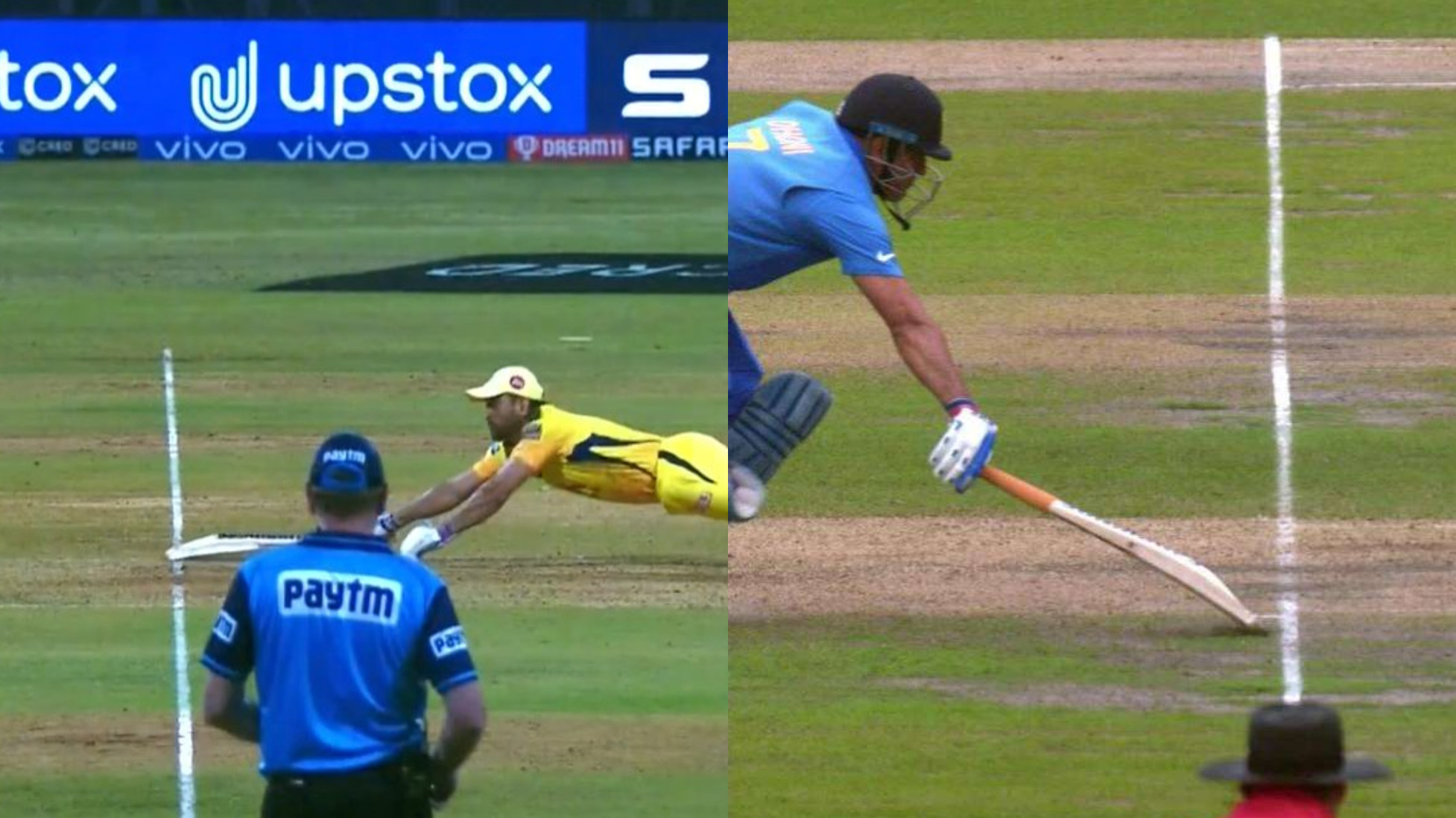 IPL 2021: MS Dhoni dives to save himself against RR; Twitterverse gets 2019 World Cup nostalgia