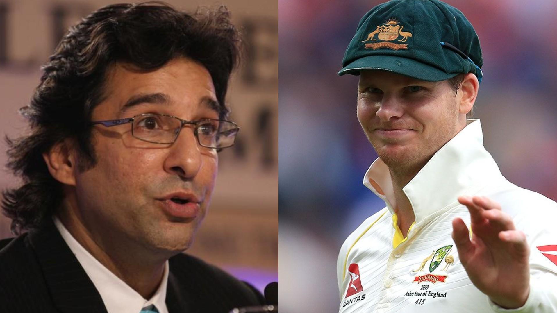 AUS v PAK 2019: Wasim Akram advises Pakistan bowlers to not follow Steve Smith's stance