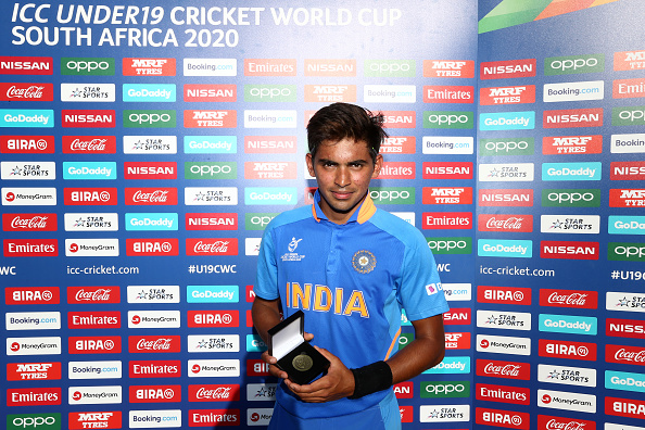Kartik Tyagi won the Man of the Match | Getty