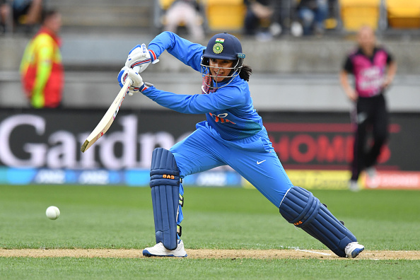 Mandhana scored 58 off 34 balls in Wellington | Getty Images