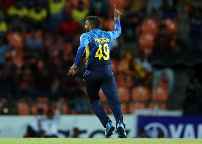 Wanindu Hasaranga picked three wickets in an over | Twitter