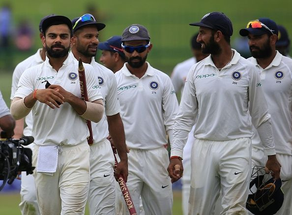 Team India has a chance to solidify their no.1 spot in Test rankings | Getty