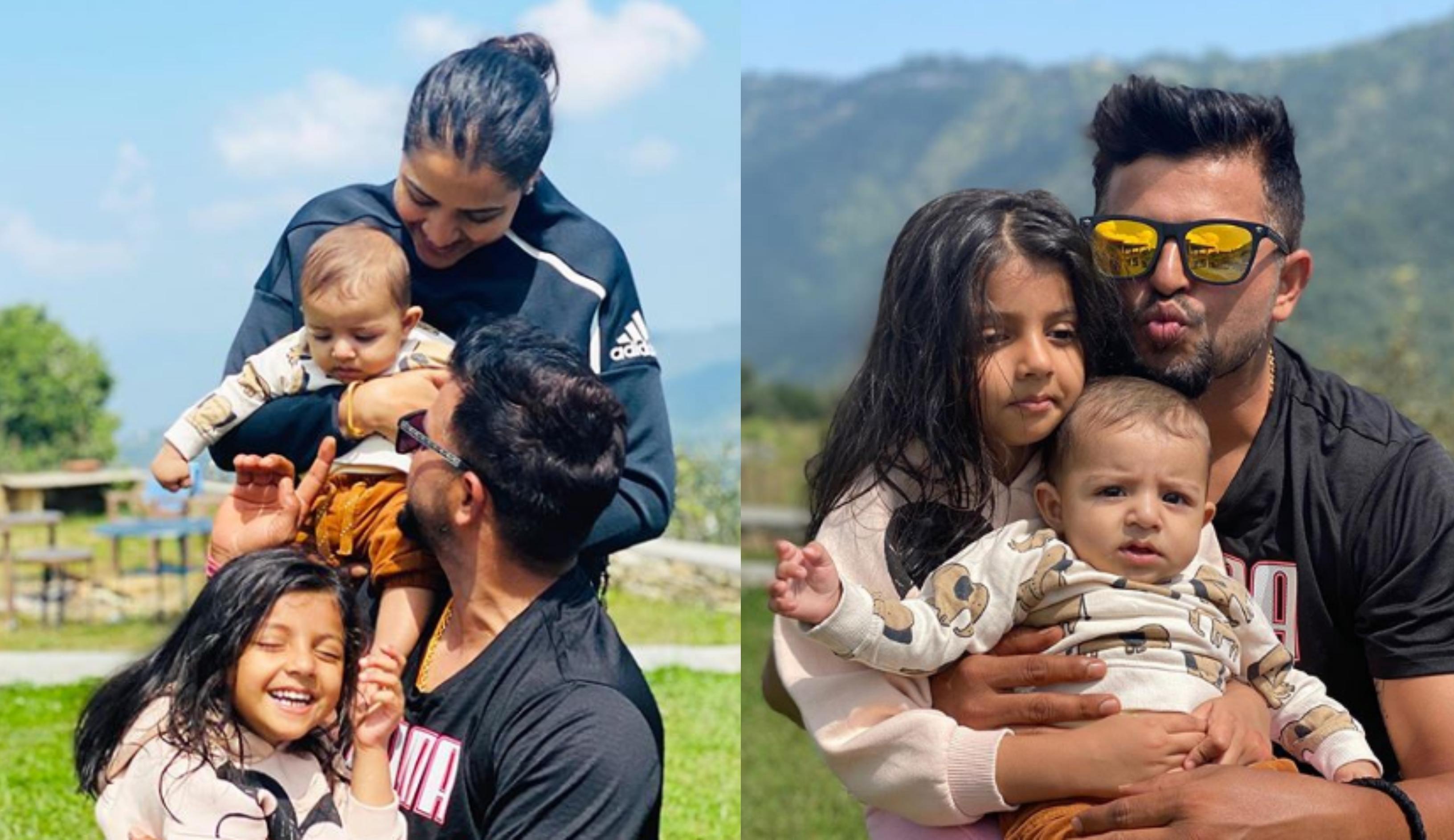 WATCH - Suresh Raina shares adorable video with son Rio ...