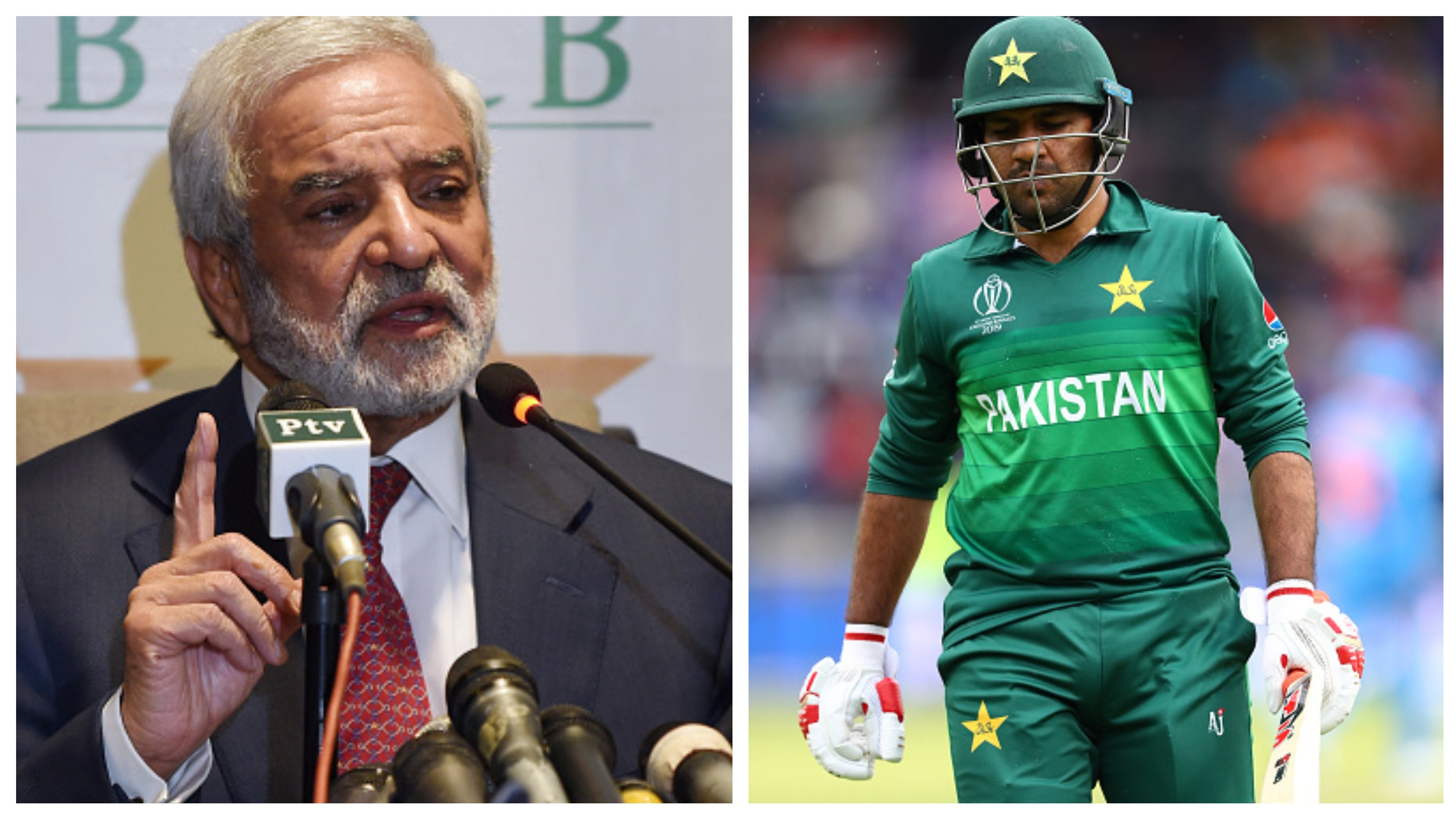 CWC 2019: PCB chairman asks Sarfaraz Ahmed to focus on remaining matches via a telephone call