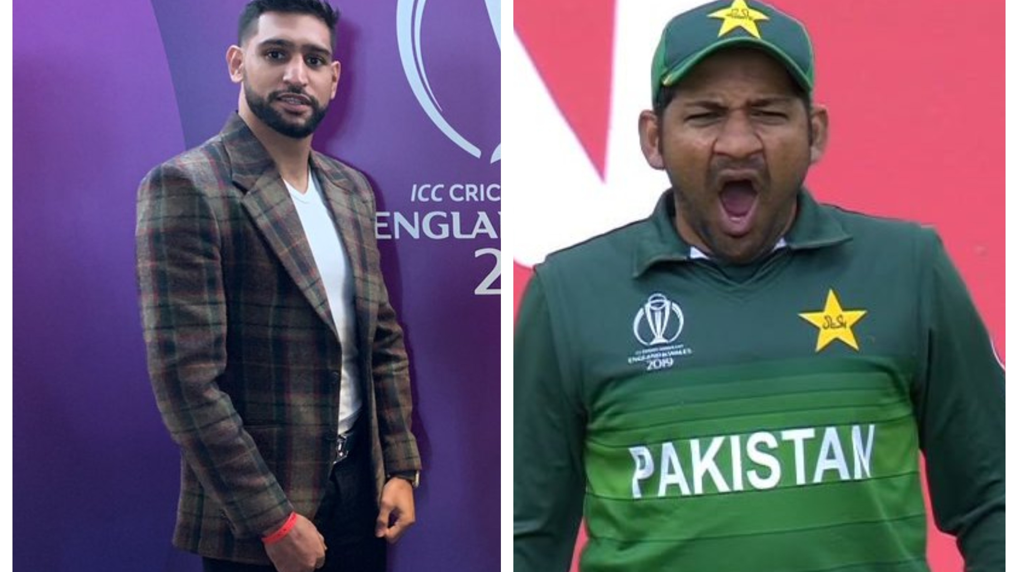 CWC 2019: British boxing star Amir Khan willing to help Pakistan cricketers get fit