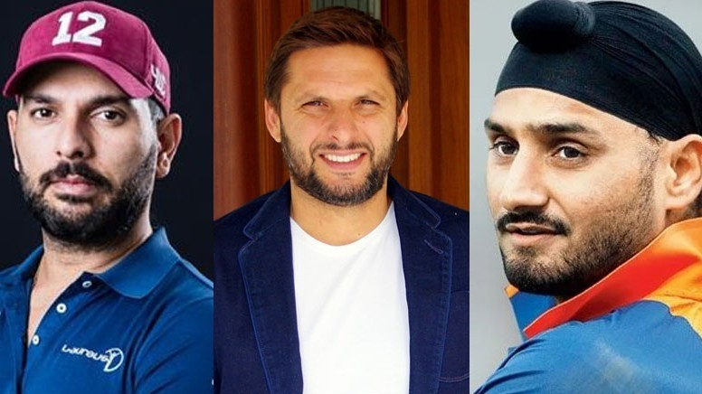 Shahid Afridi gives update on his 'friendship' with Yuvraj and Harbhajan