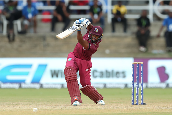 Nicholas Pooran was adjudged Player-of-the-Match for his dazzling innings | Getty
