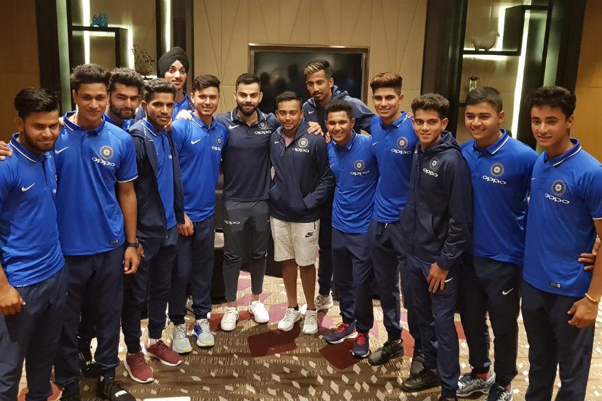 Virat Kohli's special message for World Cup winning India Under-19 team