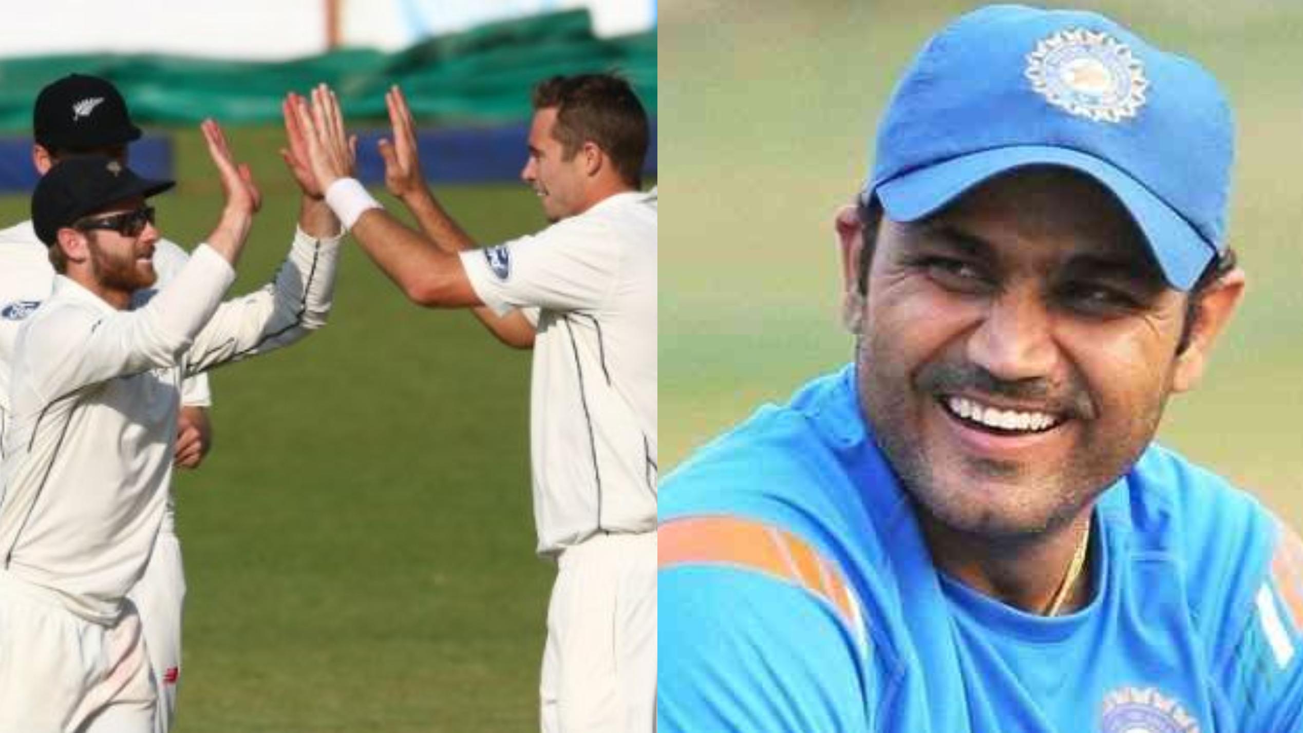 वीरेंद्र सहवाग ने न्यूजीलैंड की शानदार जीत के बाद टेस्ट मैच के प्रारूप को कहा 'बेस्ट'