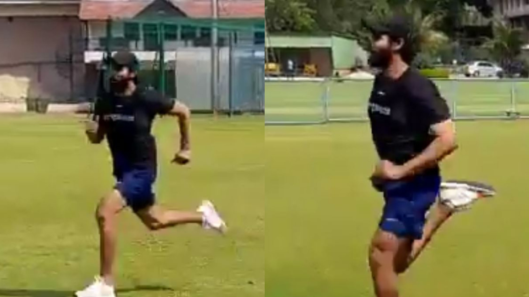 "WATCH- ""Back on field,"" Ravindra Jadeja shares video of himself returning to training"