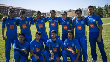 Refugees from Afghanistan and Pakistan make Sweden fall in love with Cricket