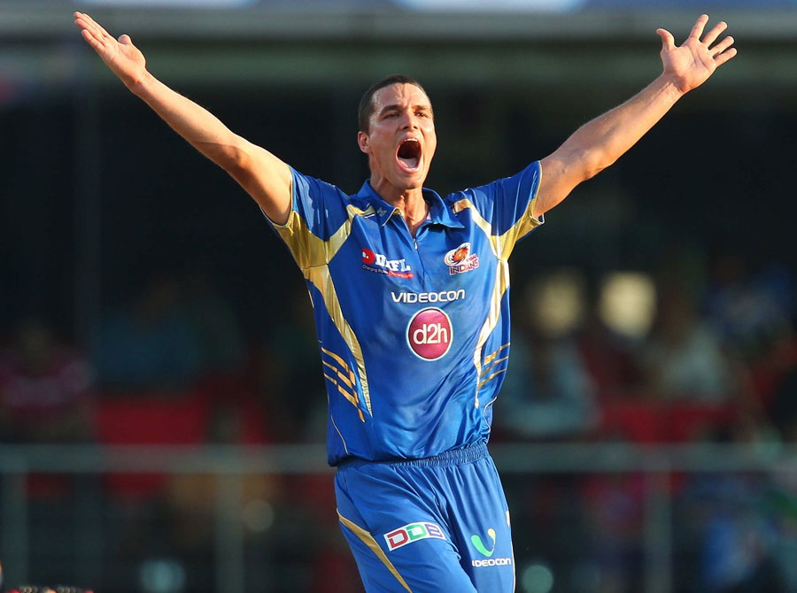 Nathan Coulter-Nile have some success for Mumbai Indians
