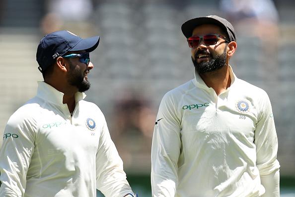 Rishabh Pant and Virat Kohli | GETTY