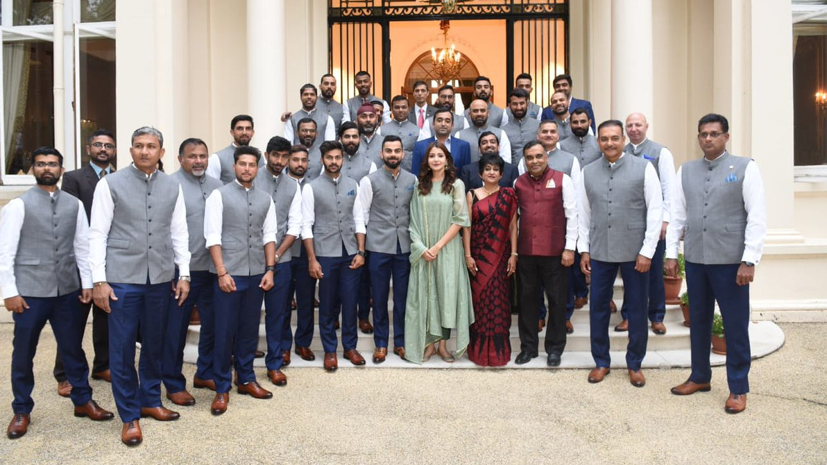 Anushka Sharma's presence with the Indian team at the Indian High Commission explained
