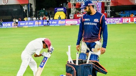 Rohit Sharma praises a young cricketer for starting off correctly