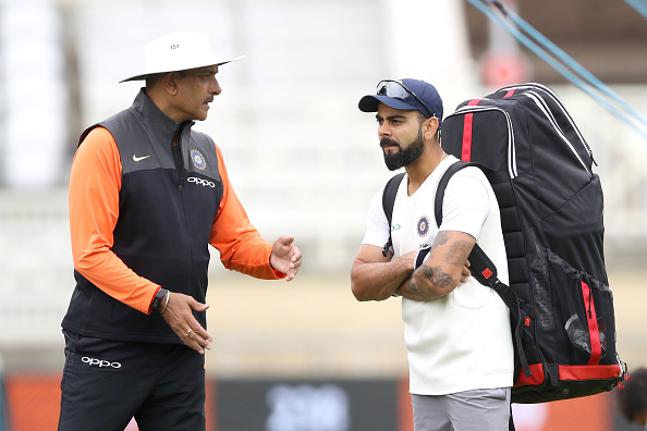 Virat Kohli and Ravi Shastri | Getty