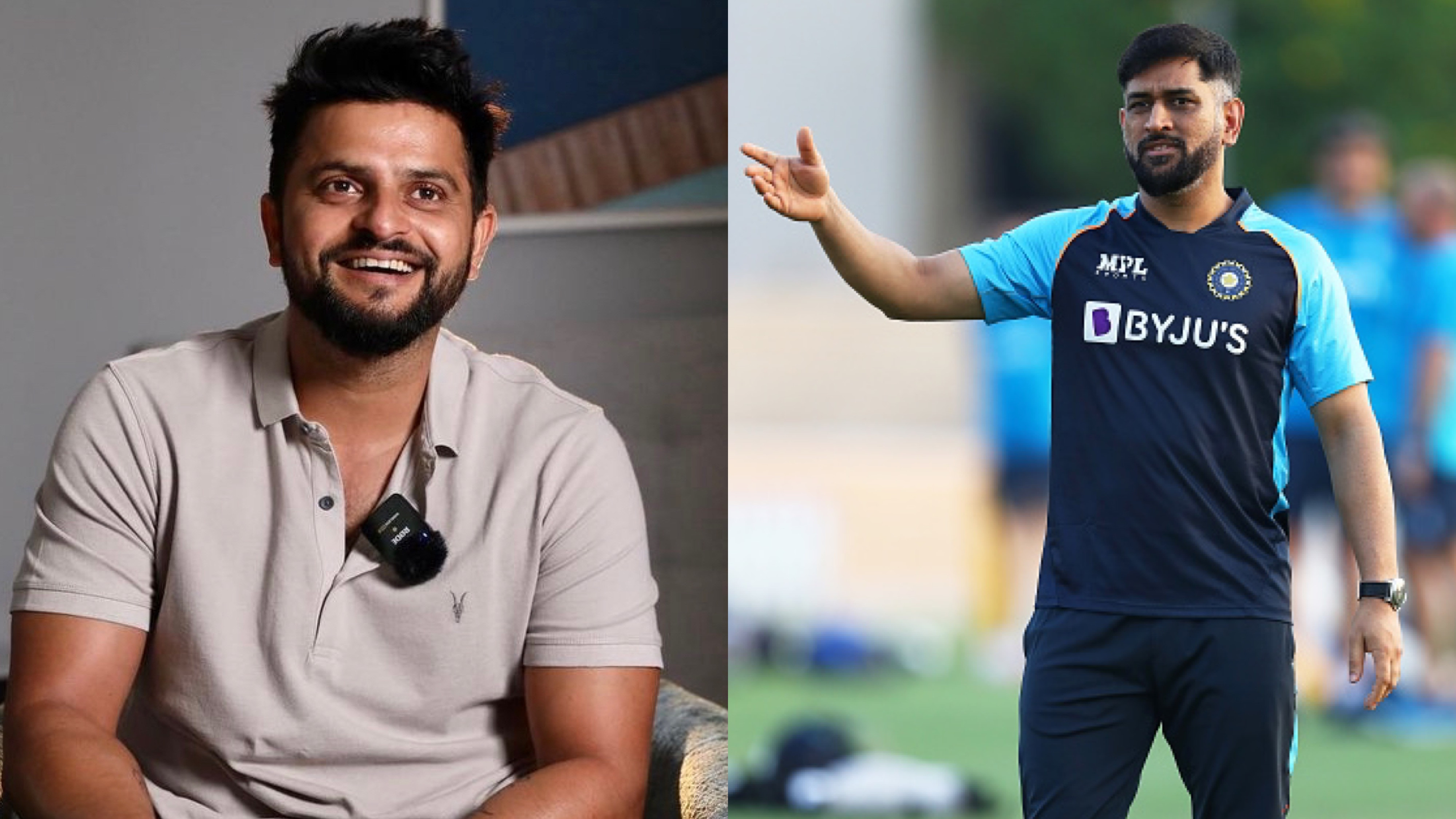 """T20 World Cup 2021: """"Youngsters will find huge support in the form of MS Dhoni,"""" says Suresh Raina"""