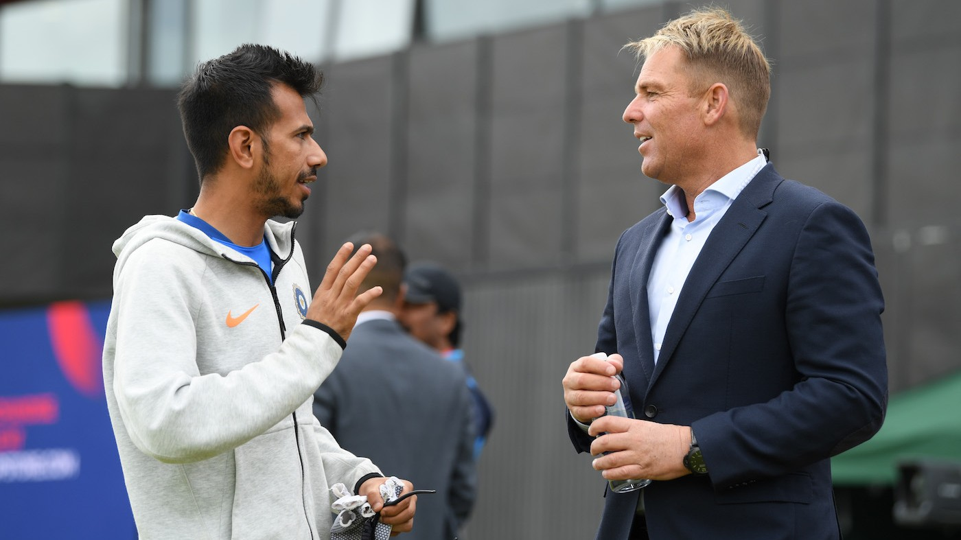 Yuzvendra Chahal reveals how he learnt the art of leg spin by watching Shane Warne's videos