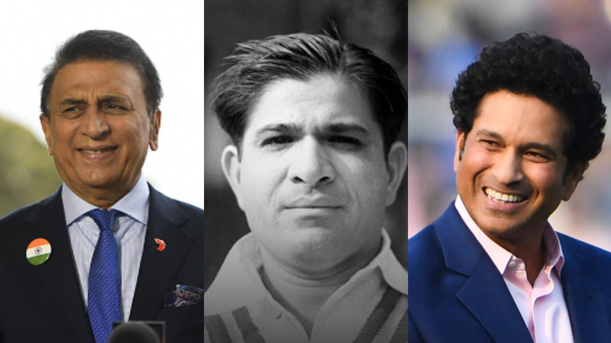 Sachin Tendulkar and Sunil Gavaskar delighted on Vinoo Mankad's induction in ICC Hall of Fame