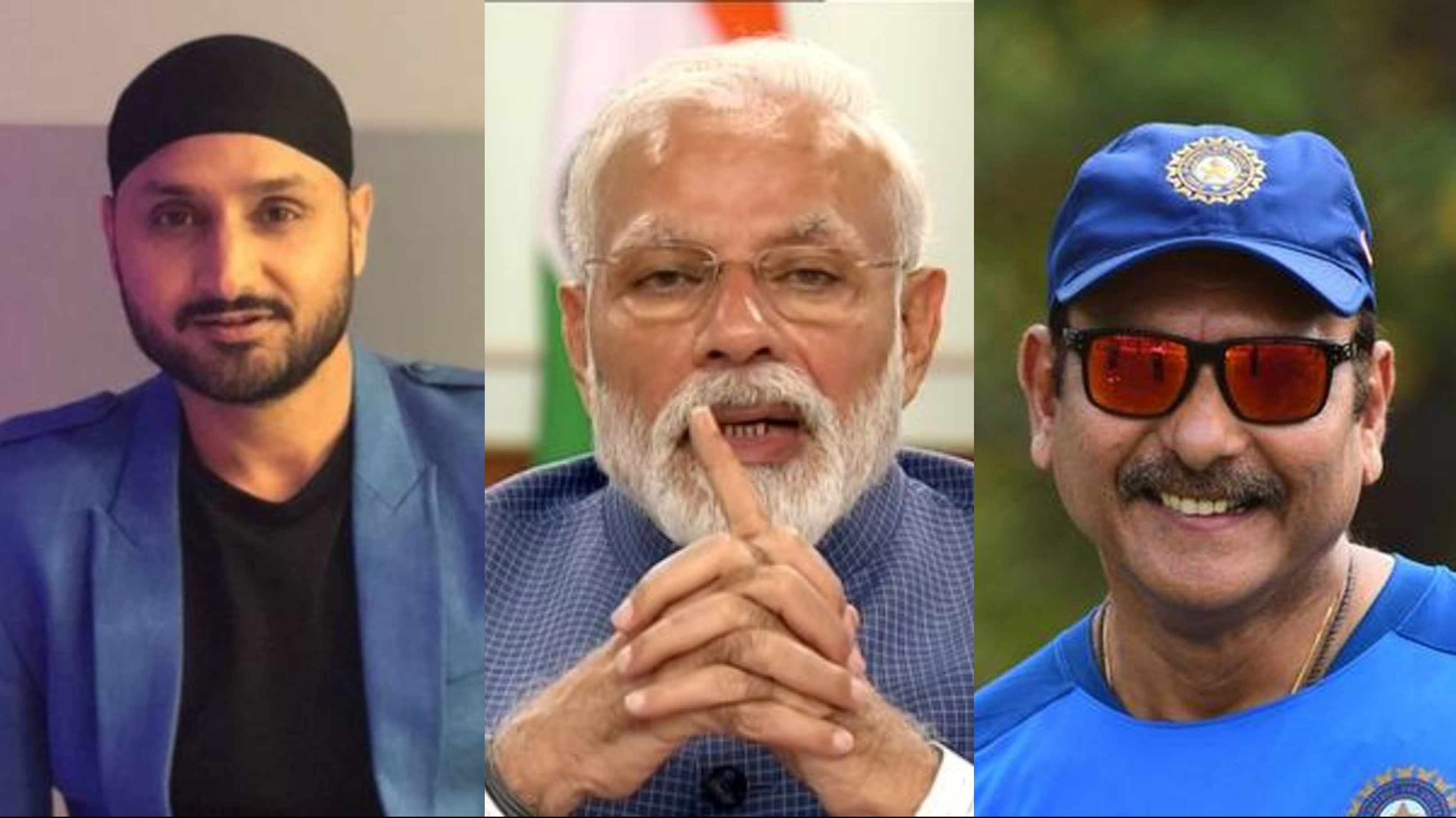 Ravi Shastri and Harbhajan support PM Modi's call to challenge the COVID-19 darkness with light