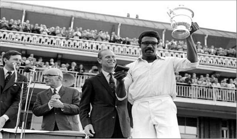 Clive Lloyd's West Indies won the Prudential World Cup in 1974 and 1979