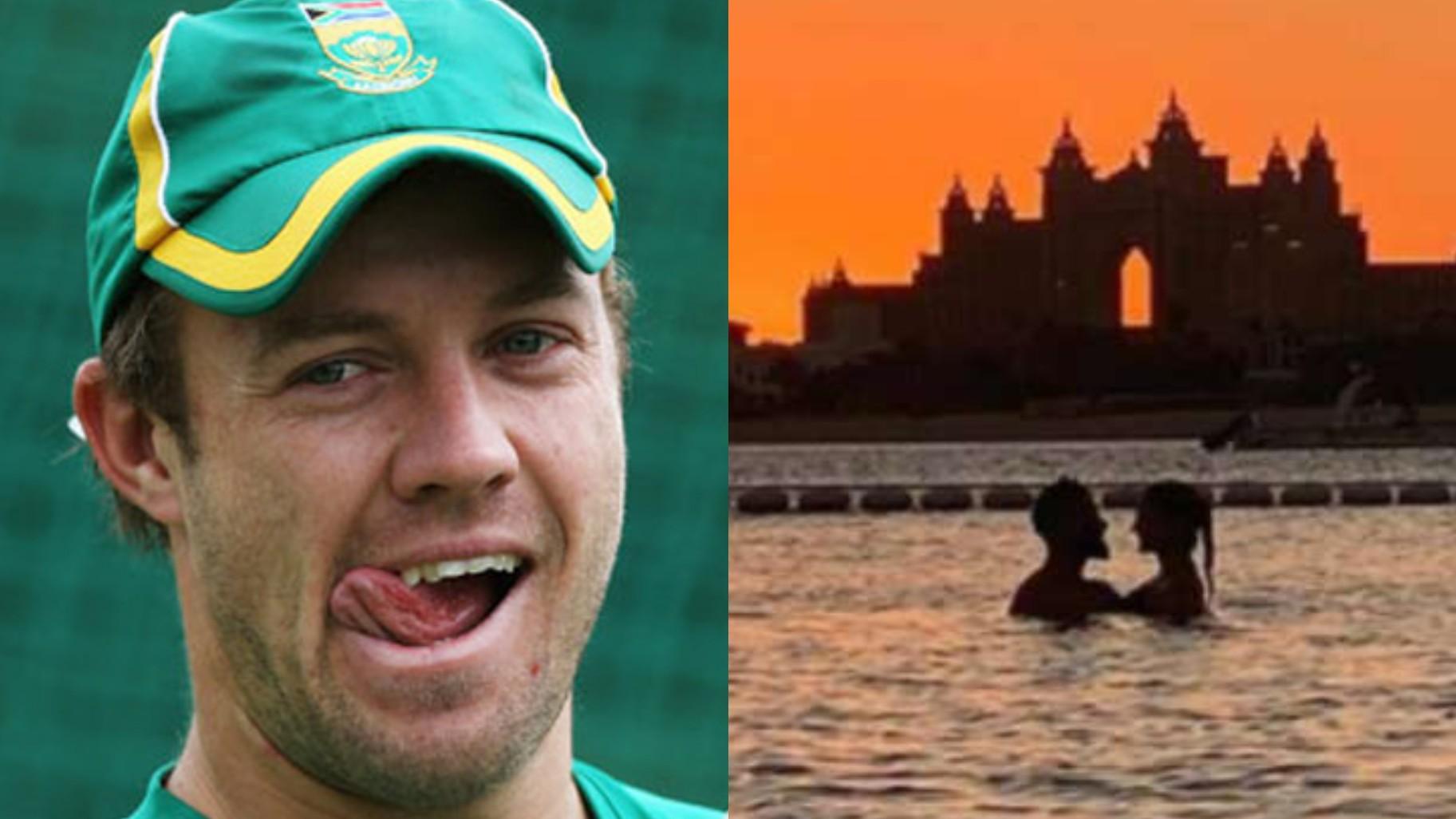 IPL 2020: AB de Villiers clicks a romantic sunset pic of Virat and Anushka