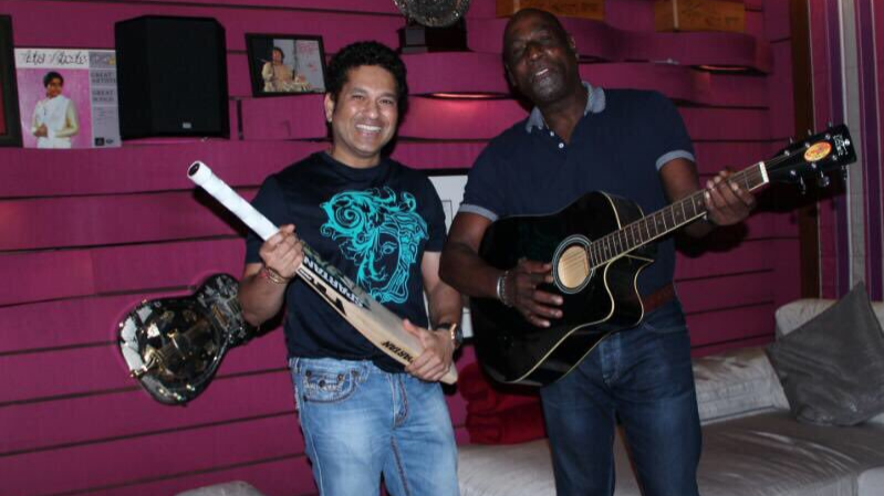 Sachin Tendulkar's special birthday wish for his batting hero Sir Vivian Richards