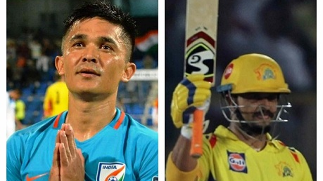 Suresh Raina requests his fans to support Indian football after Sunil Chettri pleads fans to attend matches