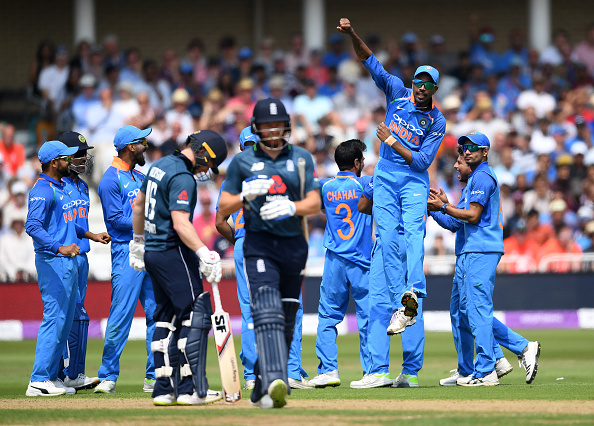 England batting failed to put a great show against India | Source Getty