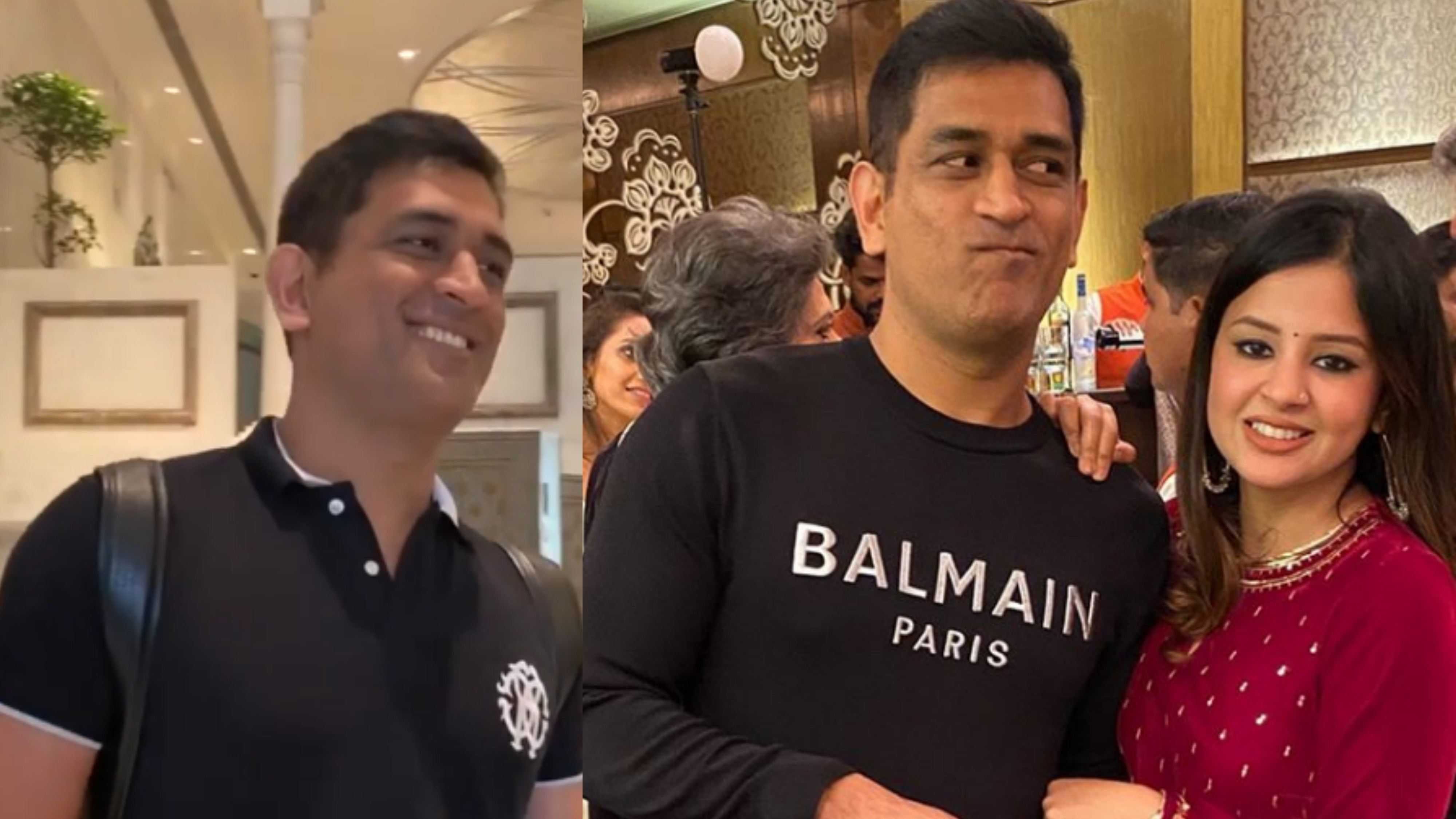 """WATCH – MS Dhoni's reaction to Sakshi calling him """"Sweetie"""" is unmissable"""