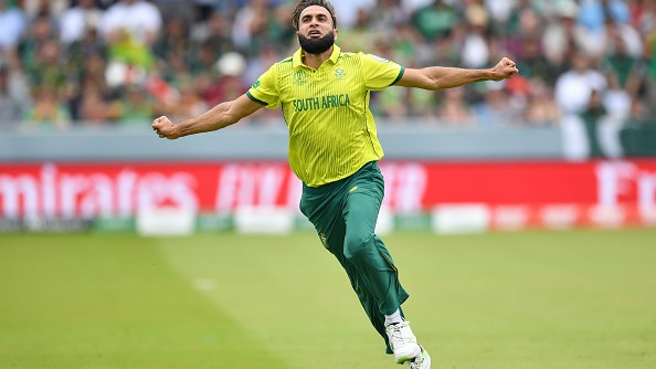 CWC 2019: Twitter flooded with memes after Imran Tahir celebrated wickets against Pakistan in his own style