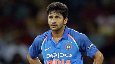 Shardul Thakur's parents injured in a bike accident on Tuesday
