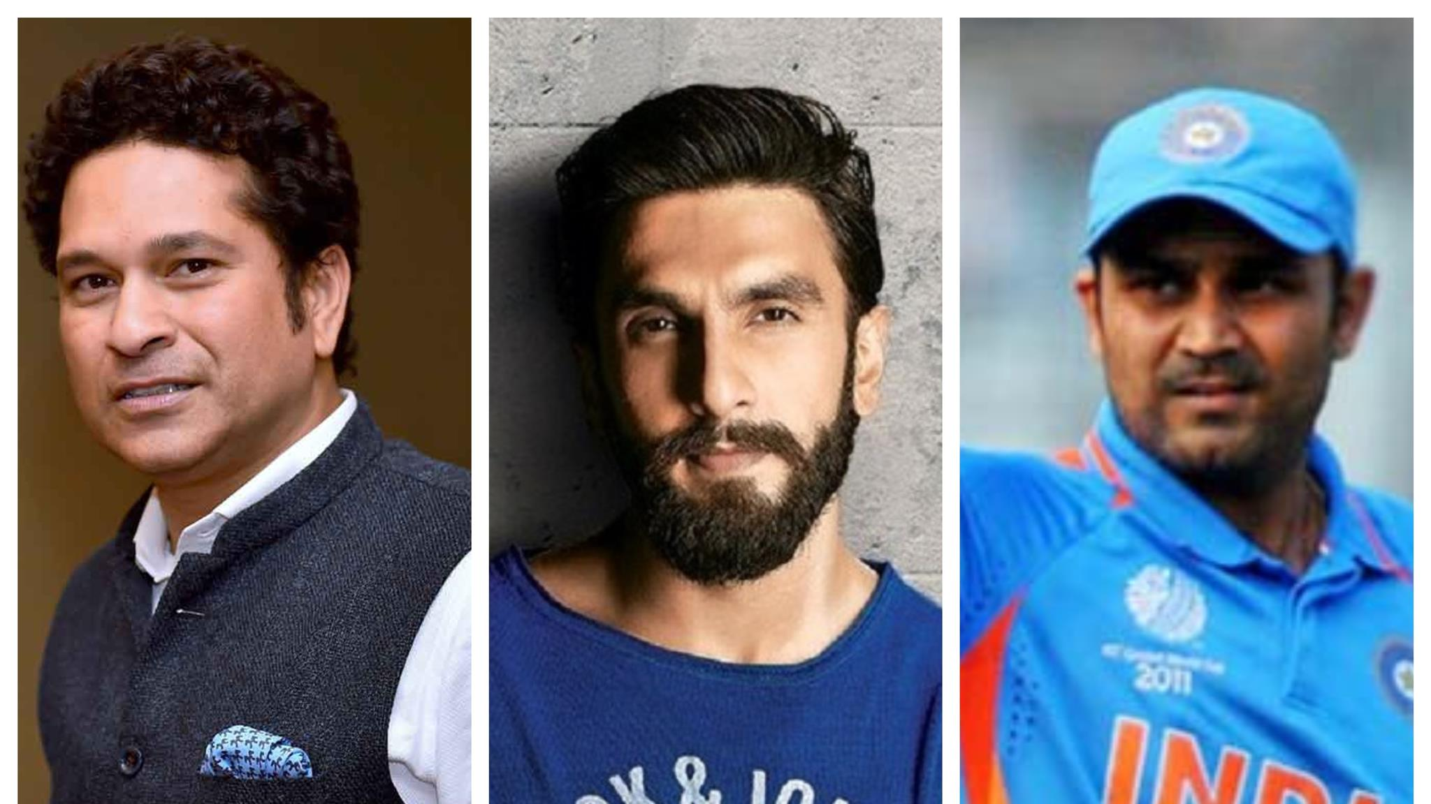 Indian cricket fraternity wishes Ranveer Singh on his 33rd birthday
