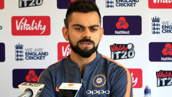 ENG v IND 2018: WATCH –Virat Kohli wants his troops to play 'fearless' cricket in England