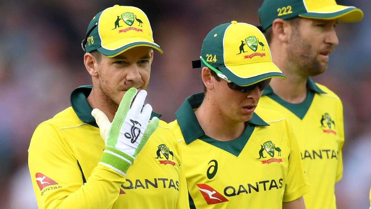 Tim Paine's place in the ODI side is under scrutiny after he averaged just 7 with the bat. (Getty)